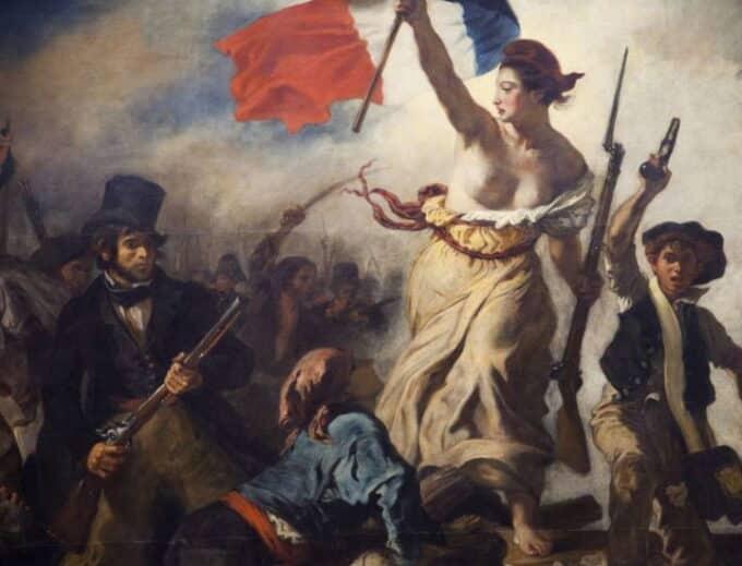 La Libertà che guida il popolo. Il simbolico dipinto di Delacroix